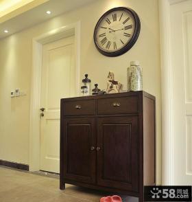 美式家居玄关鞋柜设计图片