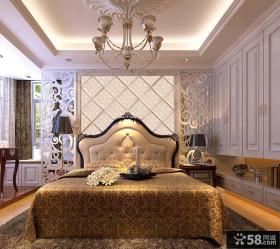 欧式卧室软包背景墙设计