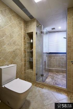 古典美式风格卫生间装修图欣赏