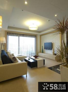 现代清新风格三居室设计