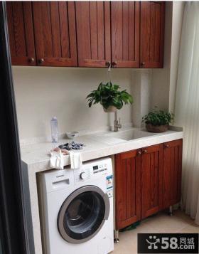 阳台洗衣机组合柜