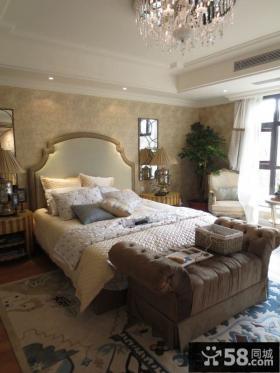 欧式豪华别墅卧室设计图大全欣赏