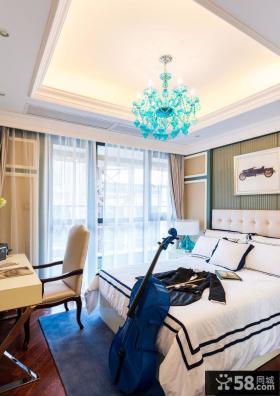 欧式卧室装饰图