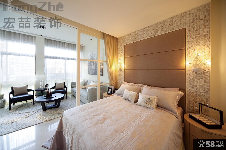 现代风格一居室小户型装修效果图
