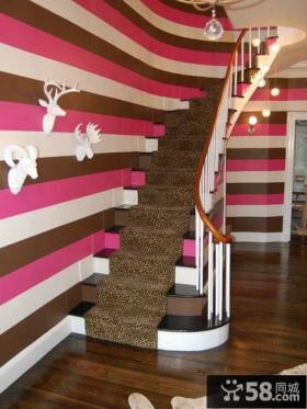 家庭别墅楼梯设计效果图大全