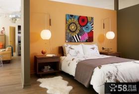 简约欧式装修 2012欧式装修风格 卧室图片