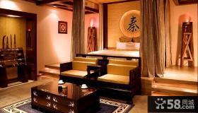 中式古典装修卧室效果图