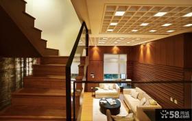 中式风格创意楼梯设计图
