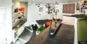 复式小公寓装修效果图大全2014图片