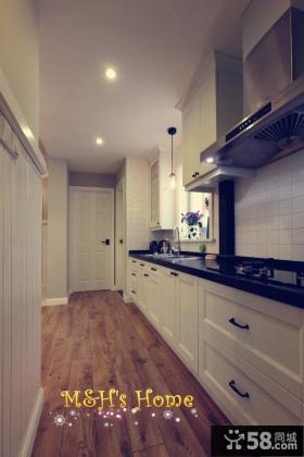 简约美式风格厨房装修案例