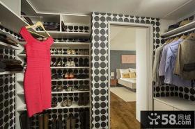 现代设计室内鞋柜图片大全