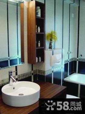 优质简约小卫生间装修效果图欣赏