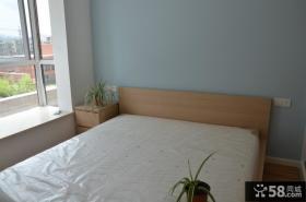 现代简约小户型卧室装饰效果图
