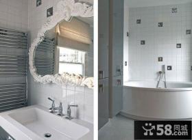75平小户型现代风格卫生间装修效果图大全2014图片