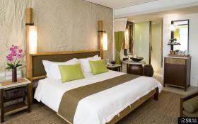 新中式卧室灯具效果图