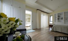 现代风格装修公寓房间布局效果图