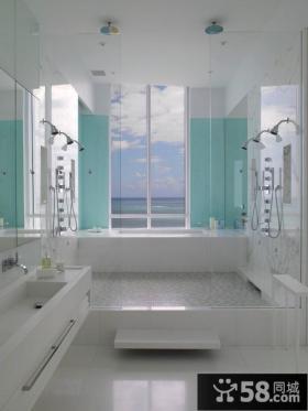 海景别墅图片 卫生间装修效果图大全2012图片