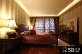 古典中式风格卧室设计装修效果图