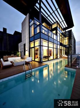 豪华别墅设计阳台图片欣赏