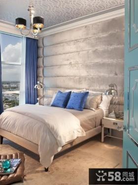 卧室软包背景墙装修效果图欣赏