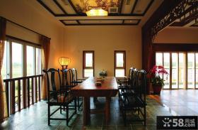 中式风格餐厅设计图片大全