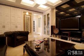 现代风格客厅电视背景墙图欣赏