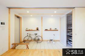 日式家居玄关装潢设计