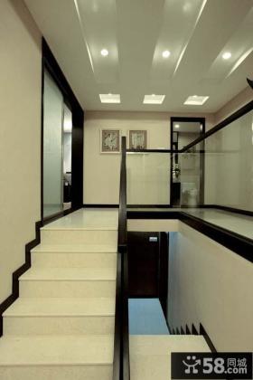 日式新古典复式家居楼梯装修