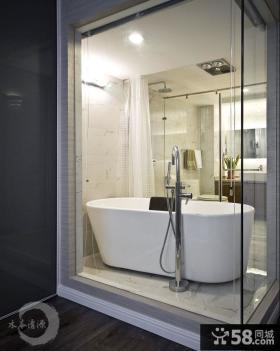 时尚家居淋浴房间装修效果图片