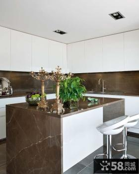 复式楼现代风格厨房装修效果图大全2012图片
