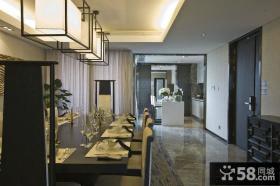 豪华室内西餐厅设计图片