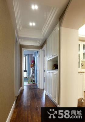 美式风格公寓过道设计图片