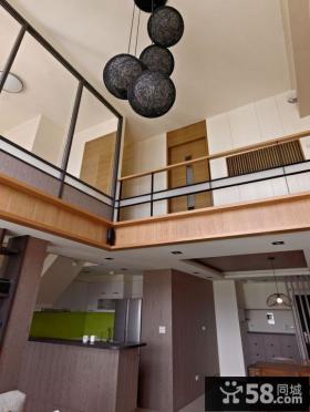 现代日式别墅室内样板房图片