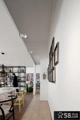 极简风格室内别墅墙面图片