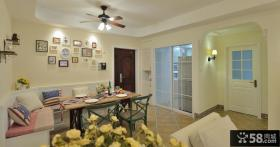 美式风格家居室内餐厅装饰效果图片