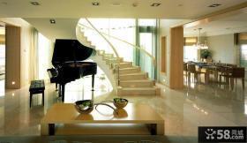现代豪华家装楼梯设计