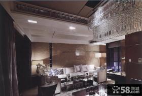 别墅软装饰客厅效果图欣赏