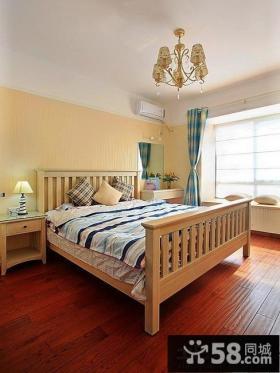 地中海风格小户型卧室效果图