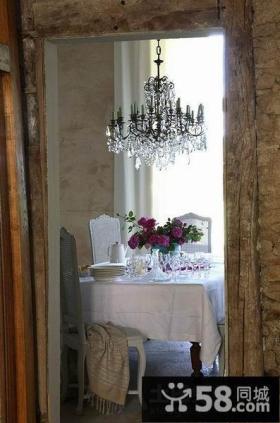 西班牙艺术家创意复式楼餐厅装修效果图大全2012图片