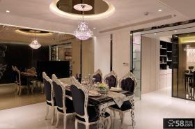 新古典风格家居餐厅吊顶设计