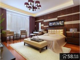 新中式卧室吊顶装修效果图大全2013图片欣赏