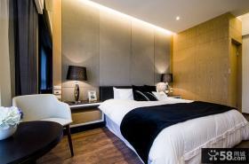 现代时尚卧室设计效果图