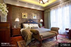 美式乡村小别墅图片大全卧室