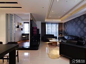 现代风格两室两厅设计效果图大全