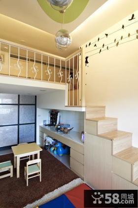 现代奢华家装复式楼梯设计