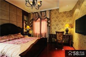 古典欧式家装卧室设计效果图