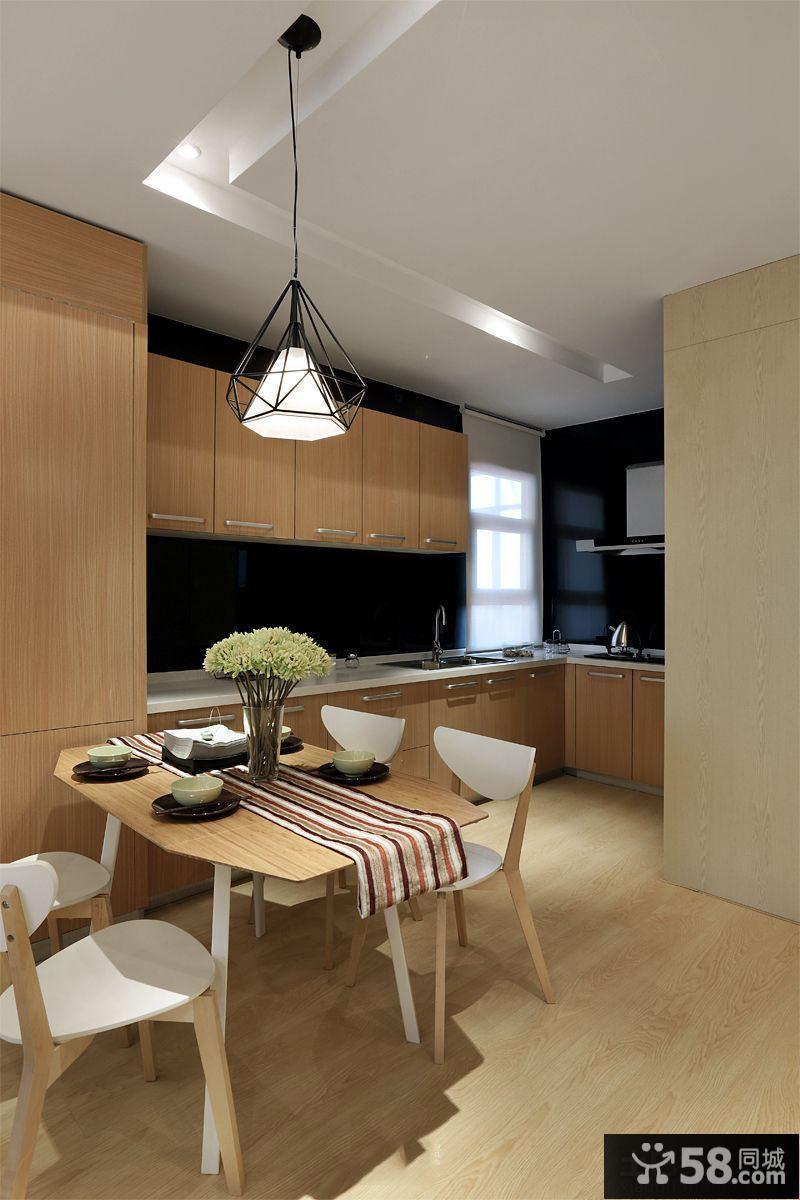 最新简约家居厨房餐厅装修图片