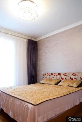 简约房屋卧室装修样板房
