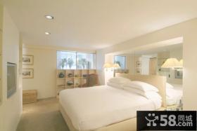 10万打造90平米欧式风格卧室装修效果图大全2014图片
