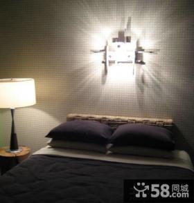 家庭卧室灯具图片